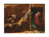 Sketch for 'The Outcast', 1851 Giclee Print by Richard Redgrave