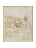 View of the City of Perugia Giclee Print by  Raphael