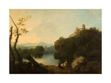 On the Arno Giclee Print by Richard Wilson