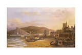 General View of Teignmouth, 1820 Giclee Print by Richard Hume Lancaster