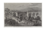 Viaduct on the Lime Branch of the Lancaster and Carlisle Railway Giclee Print by Richard Principal Leitch