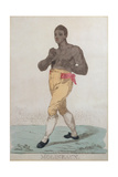 Tom Molineaux (D.1818) Giclee Print by Richard Dighton