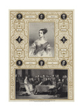 The First Council of Her Majesty the Queen, Kensington Palace, 20 June 1837 Giclee Print by Richard James Lane