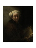 Self Portrait as the Apostle Paul, 1661 Giclee Print by  Rembrandt van Rijn