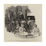 The Invalid Children's Aid Association, a Paralysed Family Giclee Print by Robert Barnes