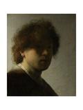 Self Portrait as a Young Man, C.1628 Impressão giclée por  Rembrandt van Rijn