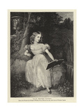 H R H Princess Victoria Giclee Print by Richard Westall