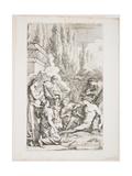 The Genius of Salvator Rosa, C. 1662 Giclée-tryk af Salvator Rosa