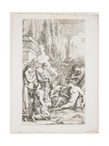 The Genius of Salvator Rosa, C. 1662 Giclee Print by Salvator Rosa