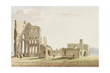 Tynemouth Priory, Northumberland Giclee Print by Samuel Hieronymous Grimm