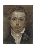 Self-Portrait, C.1824 (Black Chalk, Heightened with White, on Buff Paper) Giclee Print by Samuel Palmer