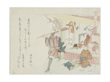Tigers Can Go Far, C. 1806 Giclee Print by Ryuryukyo Shinsai