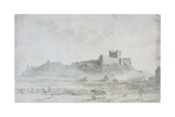 Bamburgh Castle Giclee Print by Robert Johnson