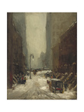 Snow in New York, 1902 Giclee Print by Robert Cozad Henri