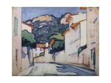 Streetscene, Cassis, C.1913 Giclee Print by Samuel John Peploe