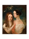 The Two Misses Preston Giclee Print by Robinson Elliot