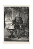 Portrait of Sir Francis Drake Presented by Sir T.T. Elliott Fuller Drake to the United Service Club Giclee Print by Samuel Lane