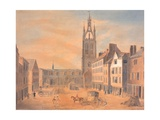 North View of St Nicholas' Church Giclee Print by Robert Johnson