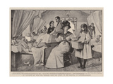 St Patrick's Day with the Wounded from the Front, in the Hospital at Pietermaritzburg Giclee Print by Robert Walker Macbeth
