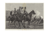 Yeomanry Cavalry Competition for the Loyd-Lindsay Cup at Wimbledon Giclee Print by Richard Caton Woodville II