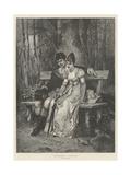 Grandmamma's Courtship Giclee Print by Robert Julius Beyschlag