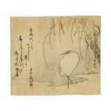Yanagi Ni Shirasagi Giclee Print by Ryuryukyo Shinsai