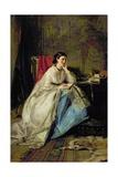Lady Shand, 1867 Giclee Print by Robert Herdman