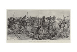The Charge of the 21st Lancers at Omdurman, 2 September 1898 Giclee Print by Richard Caton Woodville II