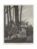 A Picnic Giclee Print by Richard Caton Woodville II