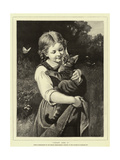 Pussy and I Giclee Print by Rudolf Epp