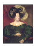 Caroline of Brunswick, Queen of Great Britain and Ireland (1768-1821), Consort of George Iv Giclee Print by Samuel Lane