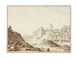 Pembroke Castle Giclee Print by Samuel Hieronymous Grimm