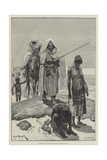 Morocco Slave-Traders Returning from Timbuctoo Giclee Print by Richard Caton Woodville II