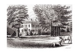 Hamilton Grange, from 'Old New York, Volume I', 1802 Giclee Print by Samuel Hollyer