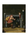 Santa Claus or St. Nicholas, 1837 Giclee Print by Robert Walter Weir