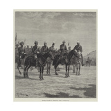 British Officers at Peshawur Giclee Print by Richard Caton Woodville II