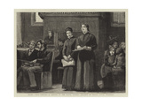 Blind Girls Singing, a Sketch at the Royal Normal College of Music, Upper Norwood Giclee Print by Robert Walker Macbeth