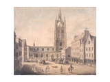 St Nicholas' Church, Newcastle Upon Tyne Giclee Print by Robert Johnson