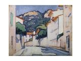 Street Scene, Cassis, C.1913 Giclee Print by Samuel John Peploe