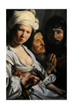 Jael, Deborah and Barak, 1635 Giclee Print by Salomon de Bray