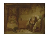 The Seven Ages of Man: Second Childishness Giclee Print by Robert Smirke