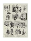 A Dog-Fancier's Strategy Giclee Print by S.t. Dadd