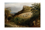 A Pastoral Scene, 19th Century Giclee Print by Samuel Palmer