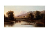 View of the St. Anne's River, 1870 Giclee Print by Robert Scott Duncanson