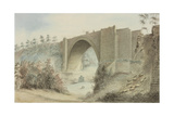 Tanfield Arch Giclee Print by Robert Johnson