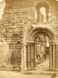 Church Ruins with Three Men Photographic Print by Roger Fenton