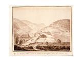 View of Montioni, Taken from the Middle of the Vine, 1812 Giclee Print by Salomon Guillaume Counis