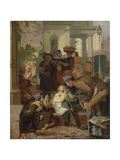 Refreshing the Weary, C.1847 Giclee Print by Robert Hannah