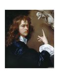 Self Portrait, C.1640-1650 Giclee Print by Robert Walker