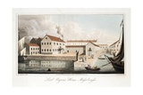 Lord Byron's House at Missolonghi, from the Last Days of Lord Byron by William Parry, Pub. 1825 Giclee Print by Robert Seymour